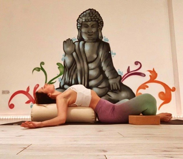yoga teacher buddha swindon